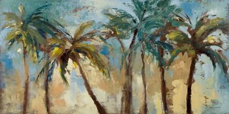 Island Morning Palms by Lanie Loreth art print