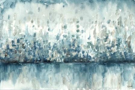 Lakeside Abstract by Tre Sorelle Studios art print