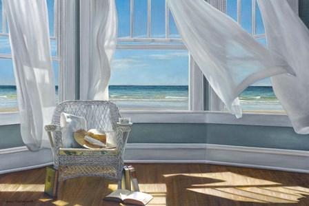 Gentle Reader by Karen Hollingsworth art print