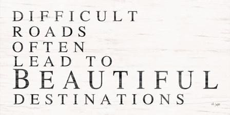 Beautiful Destinations by Jaxn Blvd art print