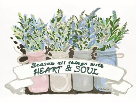 Heart & Soul by Stellar Design Studio art print