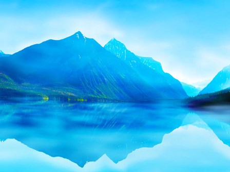 Mountainscape Photograph III by James McLoughlin art print