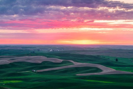 Palouse Sunset by Bruce Getty art print