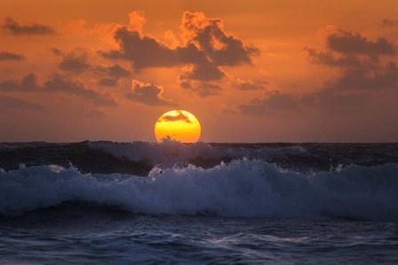 Breaking The Horizon by Patrick Zephyr art print