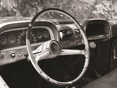 Chevy Steering Wheel by Lori Deiter art print