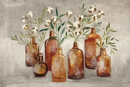 Cotton Still Life I Gray by Julia Purinton art print