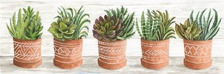Terracotta Pots II by Cindy Jacobs art print