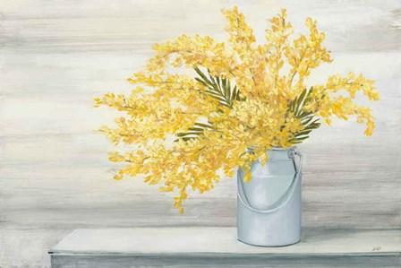 Golden Fall Cuttings by Julia Purinton art print