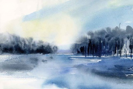 Winter River by Katrina Pete art print