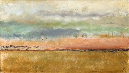 Sunset In The Cornfield by Patricia Pinto art print
