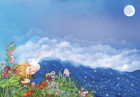 Magical Dream by Lana Korolievskaia art print