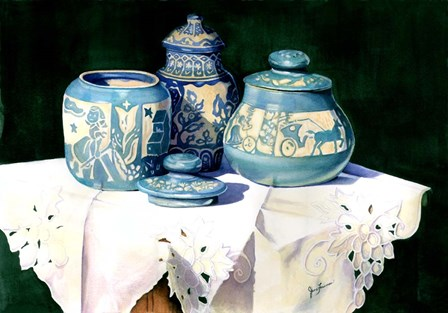 Dakota Pottery by Jane Freeman art print