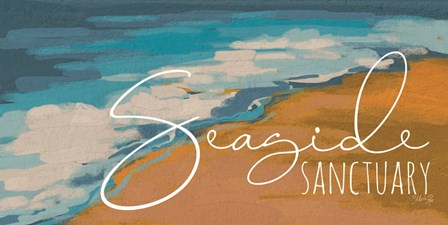 Seaside Sanctuary by Marla Rae art print