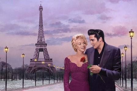 Paris Sunset by Chris Consani art print