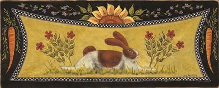 Sunny Bunny I by Lisa Hilliker art print