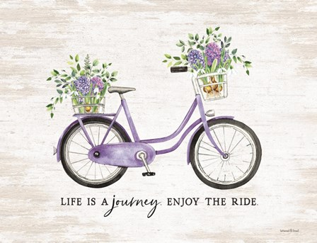 Enjoy the Ride by Lettered & Lined art print