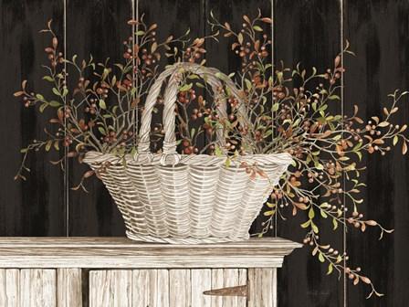 Bittersweet Basket by Cindy Jacobs art print