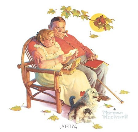 Fondly Do We Remember by Norman Rockwell art print