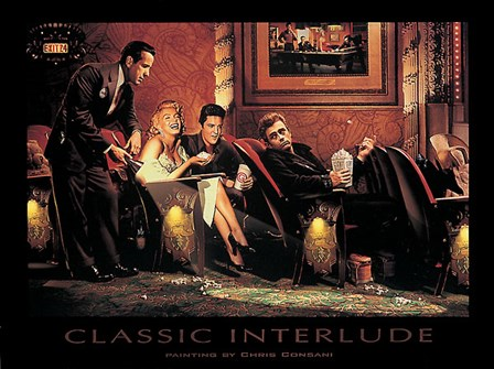 Classic Interlude by Chris Consani art print