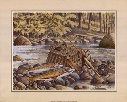 Fresh Catch by Ron Jenkins art print