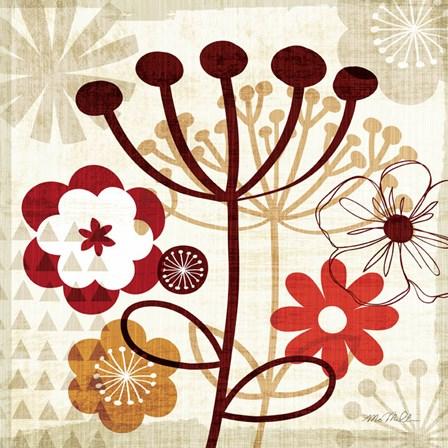Floral Pop III by Mo Mullan art print