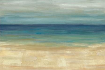 Navy Blue Horizons by Cynthia Coulter art print