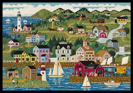 Rockport by Anthony Kleem art print