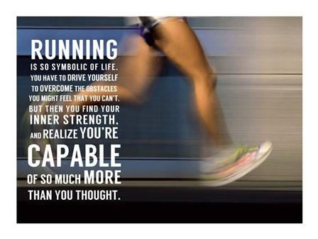 Running by Sports Mania art print