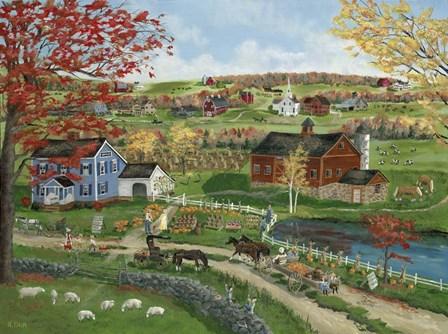 Fall Sale by Bob Fair art print