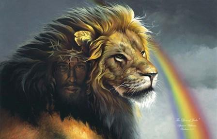 Lion Of Judah by Spencer Williams art print