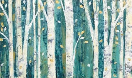 Birches in Spring by Julia Purinton art print