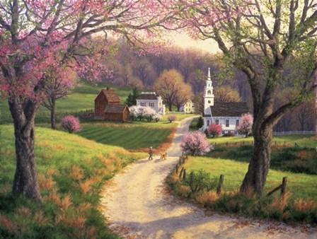 April Morning by Randy Van Beek art print