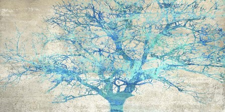 Turquoise Tree by Alessio Aprile art print