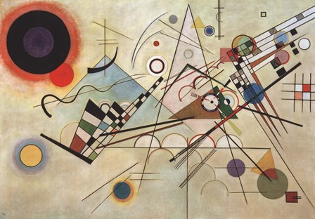 Composition VIII, 1923 by Wassily Kandinsky art print