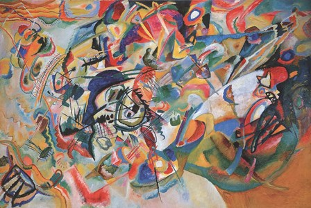 Composition VII 1913 by Wassily Kandinsky art print