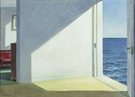Rooms by the sea by Edward Hopper art print