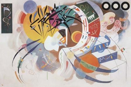 Dominant Curve, c.1936 by Wassily Kandinsky art print
