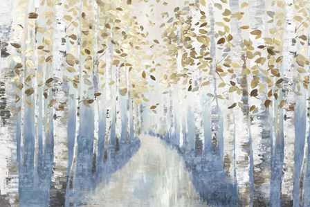 New Path I by Allison Pearce art print