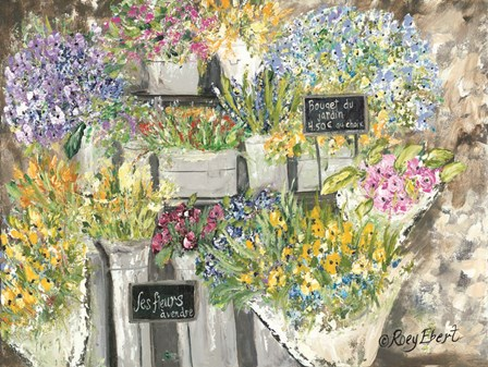 The French Flower Market by Roey Ebert art print